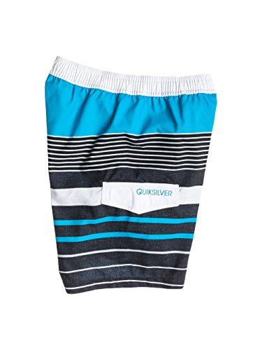 Quiksilver Yg Stripe Short de bain Garçon Hawaiian Hawaiian Ocean