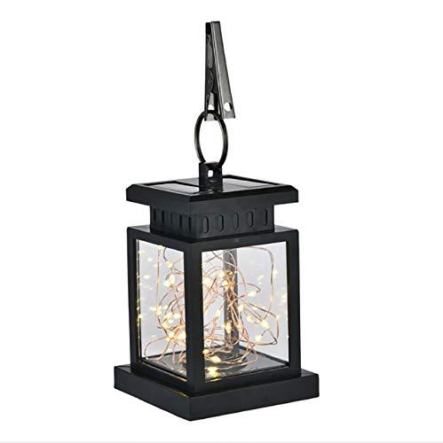Hängende Pool-tisch (Solarflammenlichter hängende Laternenlichter, im Freien Solarpfad-Licht-Tanzen-Flicking solarbetriebenes Nachtlicht für Gartenlaternen-Patio-Regenschirm-Lampe Baum-Pool-Pavillion-Rasen-Veranda-Yard)