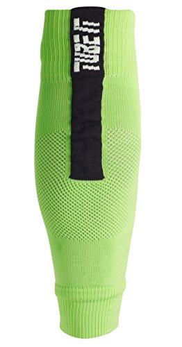 uhlsport Herren Tube It Sleeve Socken, Flash grün/Schwarz, 41-44 -