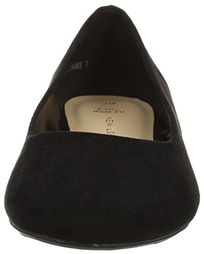 New Look 5154883, Ballerine Donna Nero (Black)