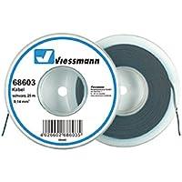VIESSMANN 68603 Kabelring, Litze, 25m, 0,14 mm² schwarz