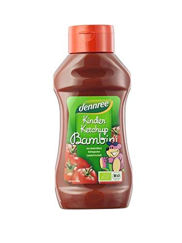 dennree Kinderketchup in der Squeezeflasche (500 ml) - Bio