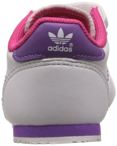 adidas Originals  DRAGON CF I,  Sneaker bambino bianco (Blanc (Running White/Ray Purple/Pink))