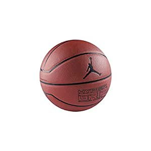 Nike Jordan Hyper Grip 4 Panel Basketball (7, dark amber/ black)