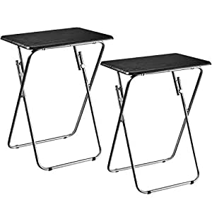 Pliante Jardin Aingoo 2 Nique De Tv Pique Table Tables 54L3jAR