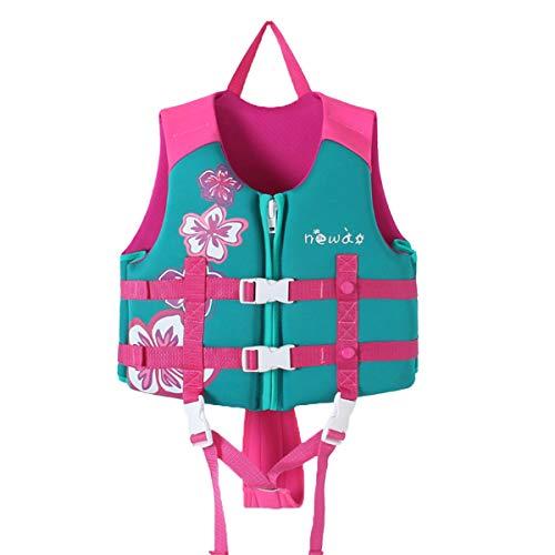 Zeraty Kinder Schwimmweste für Kleinkinder mit Armbändern Floatation Sleeves Alter 1-9 Jahre / 22-50 lbs/Rosa