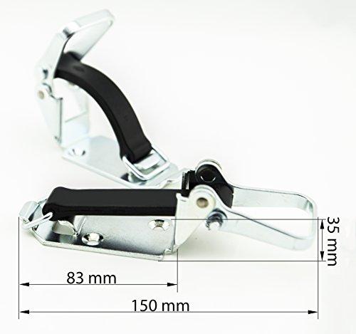 USP1 universal Spannverschluss, Werkzeughalter, Gummispanner, Spanngummi 90 mm (1 Stk) (Lkw-schaufel)