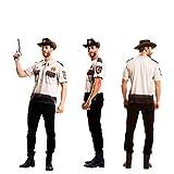Yijja Fast Fun - Sheriff, camiseta de manga corta para adultos, talla XL (Charm Kingdom YJ00045)
