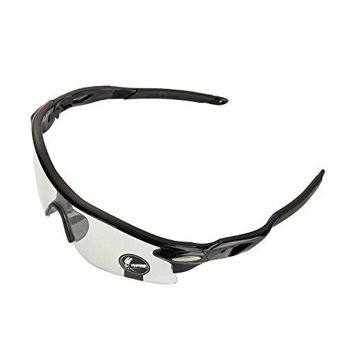 VABNEER Occhiali Ciclismo Occhiali da Sole Sport Outdoor Occhiali da Sole Ciclismo (Lente Trasparente)