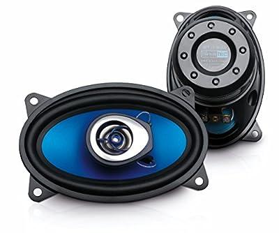Sinustec ST-150c Haut-parleurs coaxiaux ovales 10,2 x 15,2 cm par Profihifi Vertriebsgesellschaft mbH