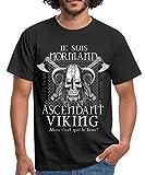 Les vikings, c'étaient des seigneurs de guerre. Ce design humoristique nous rappelle un trait de l'histoire et met tout le monde d'accord sur le fait que le boss, ce sont les normands.Un classique sans compromis : vous allez adorer ce T-shirt simple ...