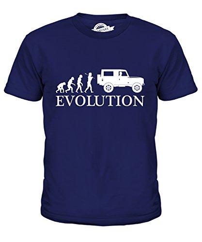 Candymix 4X4 Evolution Of Man Unisex Kids T Shirt Boys/Girls/Toddler/Children T-Shirt