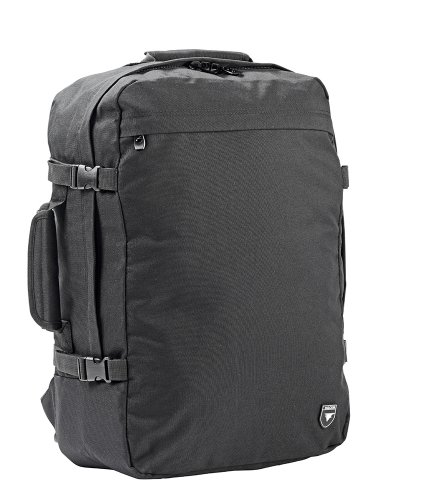 Price comparison product image Falcon 15.6-inch Lightweight Travel Rucksack Polyester - Black