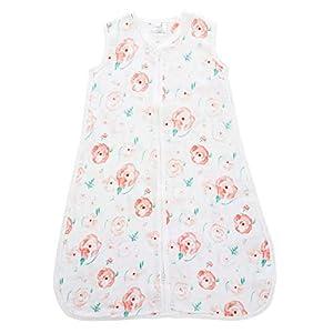 aden by aden + anais saco de dormir,  100% muselina de algodón, 1.0 TOG ,  flor completa, 18-24 meses