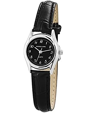 Excellanc Damen-Armbanduhr XS Analog Quarz verschiedene Materialien 190021000033
