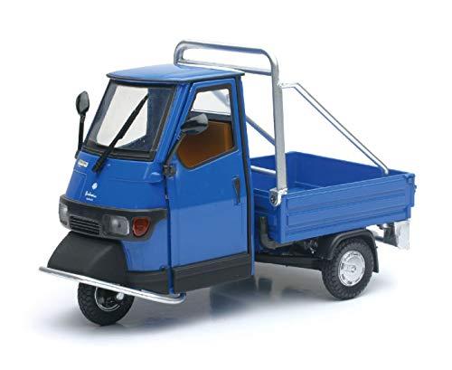 Piaggio Ape Cross 50 blau Metall Modell 68035 NewRay 1:18 - 50 Cross