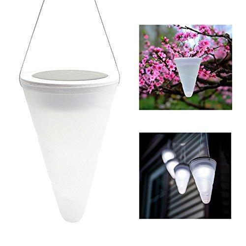 Lampe solaire de jardin à suspendre