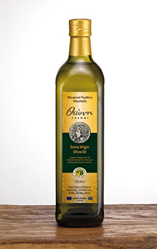 Theoni Olivenöl Extra nativ/Extra Virgin, kaltgepresst, aus Griechenland, 0,75l Flasche, 1er Pack (1 x 750ml)