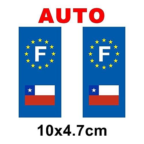 autocollant-plaque-immatriculation-drapeau-chili-auto
