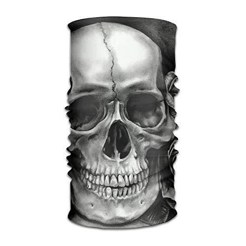 headscarves sky Headbands Black Rose and Skull HeadUnisex Sport Scarf Neck Outdoor Scarf Headbands Bandana Outdoor Sweatband Headwear Multi Color Knit Skull Cap