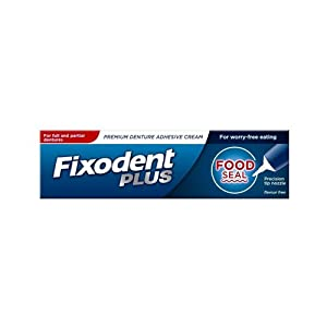 Fixodent Plus Denture Adhsv Food Seal, 40 g
