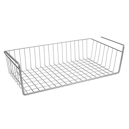 Metaltex - Estante intermedio, Gris metalizado, 50 cm