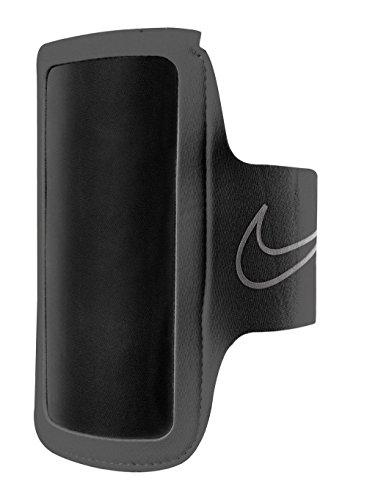 Nike Erwachsene Lightweight Arm Band 2.0, Black/Silver, N.RN.43.001.OS (Nike Armband)