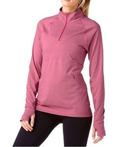 Roxy Shirt Shirt à Manches Longues de Rose Mélange
