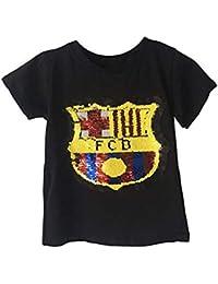 Amazon.es  Camiseta De Barcelona - Niña  Ropa 8ee066c6ae688
