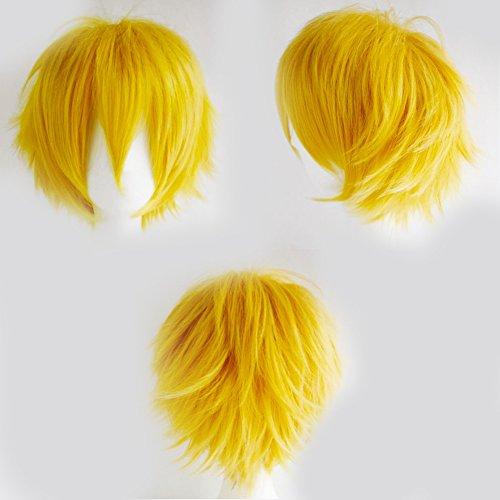 S-noilite® Unisex Kostüm Perücke Kurz Party Cosplay wig Kostueme Glatt Haar Perücken Wigs Damen Mann - (Klebeband Für Kostüme Männer)