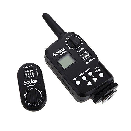Anzeige Powered Remote (Godox FT-16 Wireless Power Controller Remote-Flash-Trigger für Godox Witstro AD180 AD360 Speedlite Blitz Canon Nikon Pentax Kamera)