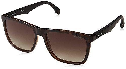 Carrera Unisex-Erwachsene 5041/S HA 2OS Sonnenbrille, Schwarz (Havana Mtblack/Brwn Sf), 56