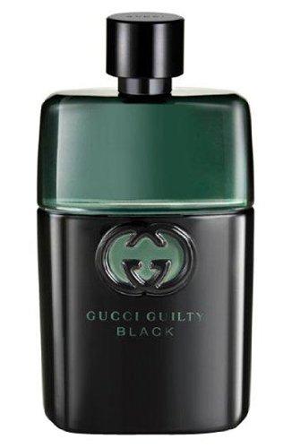 Guilty black pour homme, descrizione 90 ml spray eau de toilette