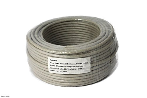 50m Cat6Ethernet Netzwerk Kabel Rolle -