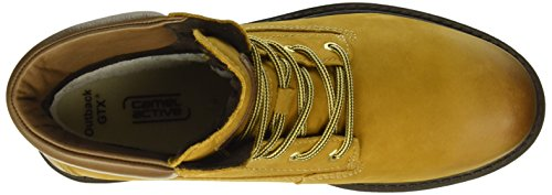camel active Outback Gtx 72, Stivaletti Donna Giallo (curry/bison 14)