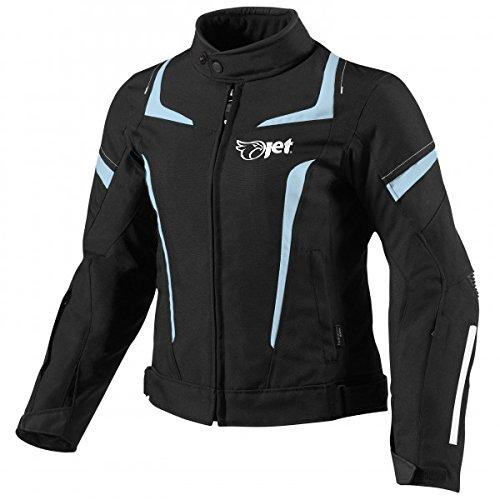 JET Motorradjacke Damen Textil Wasserdicht Winddicht Mit Protektoren