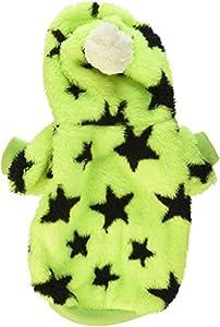 Pet Manteau pour chien Pull à capuche en velours doux pour chat étoiles pour petit chien vêtements chandails pour l'automne et d'hiver XS S M L XL XXL