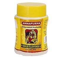 Annapurna Bandhani Hing Premium Yellow Powder, 50Grams