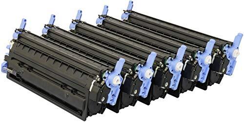 TONER EXPERTE® 5 Toner kompatibel zu HP Q6000A Q6001A Q6002A Q6003A für HP Laserjet 1600 2600 2600n 2600dn 2605 2605dn CM1015 CM1017 MFP (Schwarz: 2500 & Cyan, Magenta, Gelb: 2000 Seiten) -