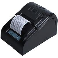 BOYISEN ZJ-5890T Impresora Térmica Impresora Térmica de Recibos Rollos de Papel Térmico DE 58 mm 90mm/Sec, ESC/POS, Mini USB Portátil, Conpartible con Win XP/Vista/Win 7/Win 8,Linux