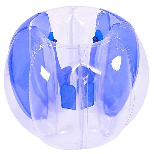 P&KK Aufblasbare Bubble Ball, tragbare aufblasbare Stoßkugel Aufblasbare Stoßkugelkörper-Schlag-Sumo-Anzüge für Kinder Kinder im Freien Spielen Ballspiele Outdoor-Sportarten Spielzeug,Blue
