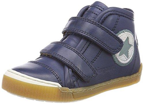 Bisgaard Unisex-Kinder Klettschuhe Hohe Sneaker, Blau (Navy), 27 EU