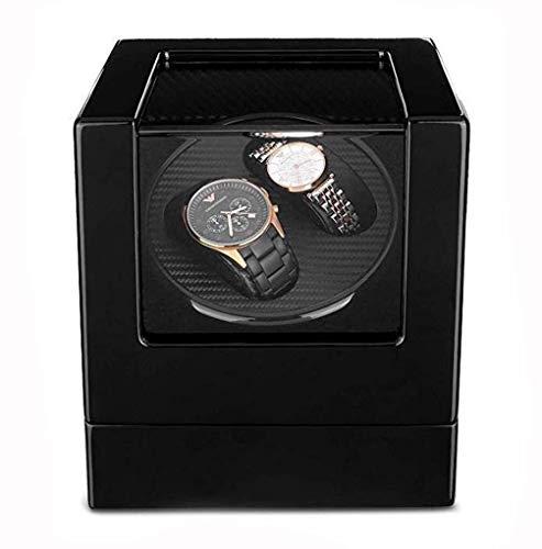 Box J-Uhrenaufbewahrung 2 Automatische Uhrenbeweger, Doppel Holz 100% Handgemachte Uhrenbeweger Importierten Mabuchi Motor Quiet