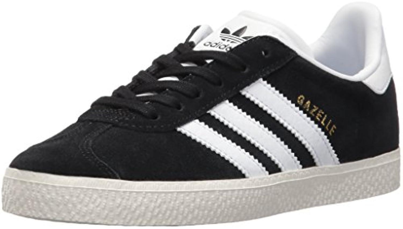 adidas originaux garçons « gazelle c / basket, noir / blanc / c nous l'or métallique, 12 moyenne petite d4e615