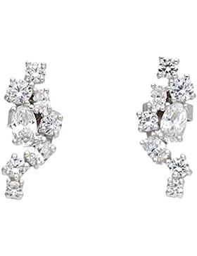 Esprit Floating Stones Ohrringe Silber mit Zirkonia ESER92648A000