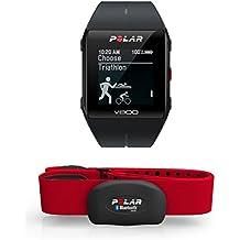 Polar V800 HR - Reloj deportivo GPS y sensor de frecuencia cardíaca H7 HR, color negro