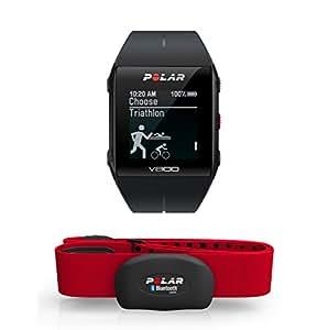 POLAR V800 Hr Montre cardiofréquencemètre avec GPS Noir