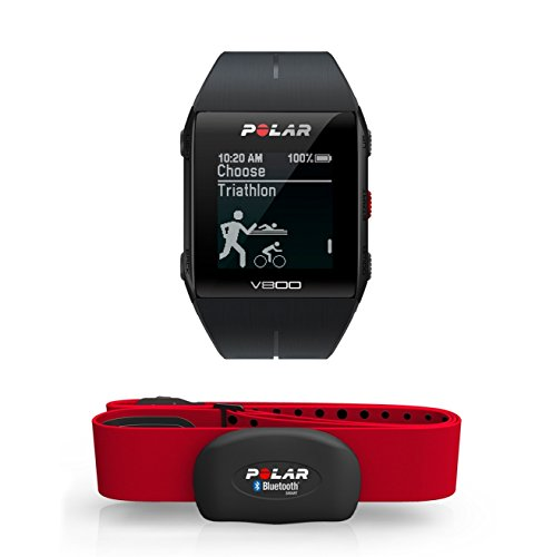 Polar V800 Unisex GPS Multi-Sports Watch with HR - Black