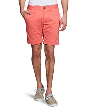 SELECTED HOMME Herren Short 16030494 Three Paris spiced coral shorts, Gr. 48 (S), Rot (Spiced Coral)