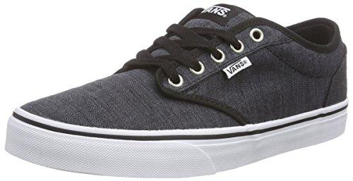Vans Herren Atwood Sneakers, Schwarz (Distress/Black/White) 41 EU